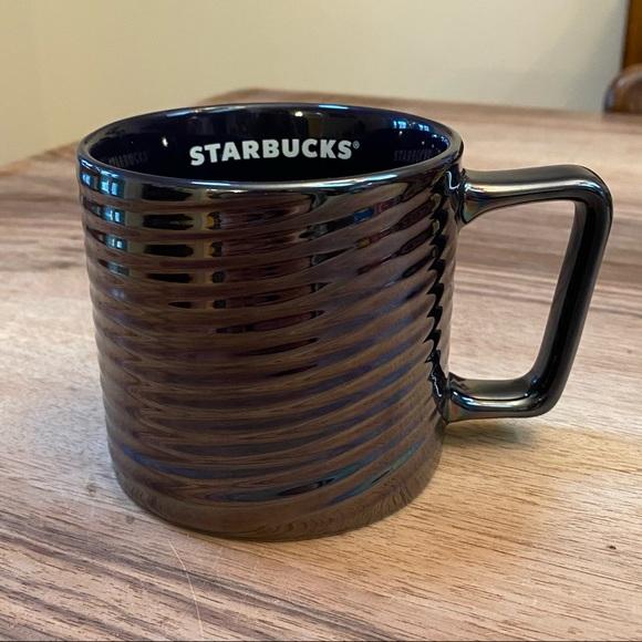 Starbucks Luster Swirl Mug 12oz 2020 Holiday RARE